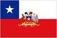 Chile Presidential Flags