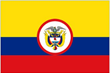 Colombia Presidential Flags