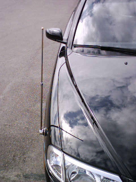Car flagpole 5