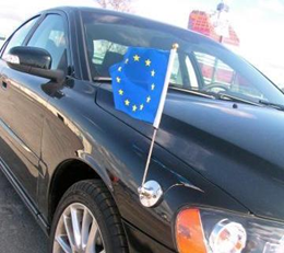 Magnetic car flag pole 6